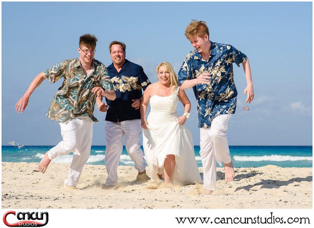 Cancun beach photos